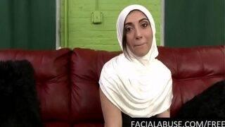 Horny man fucked an Arab lady brutally