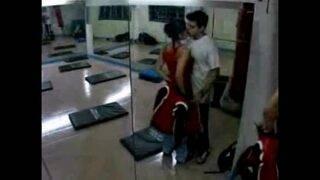 Slut lady fucked by her pervert trainer